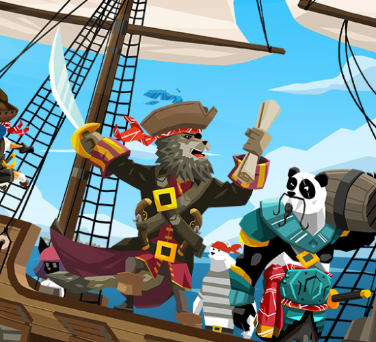 WORLD OF PIRATES